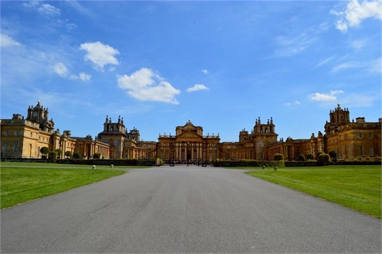 Blenheim Palace rear view