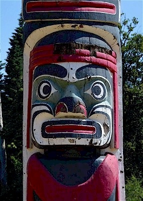 Totem Pole close-up