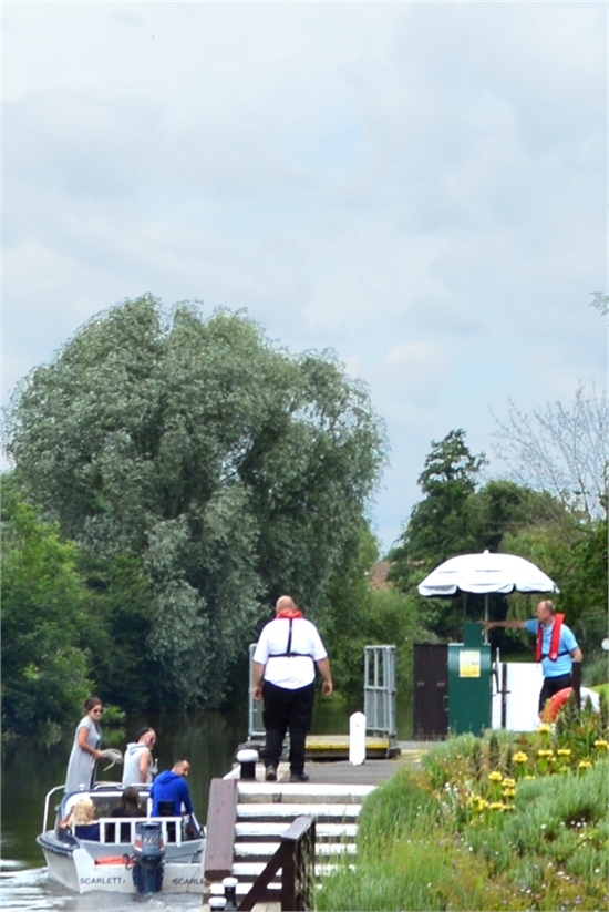 the lock keeper in action