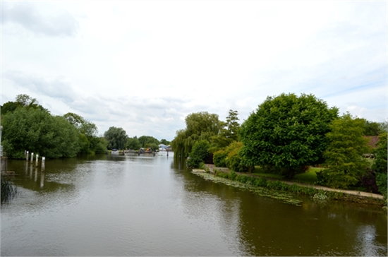view from the lock